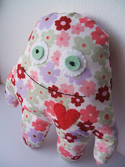 Flibbertygibbet: Raspberry Monsters :  indie design designer gifts